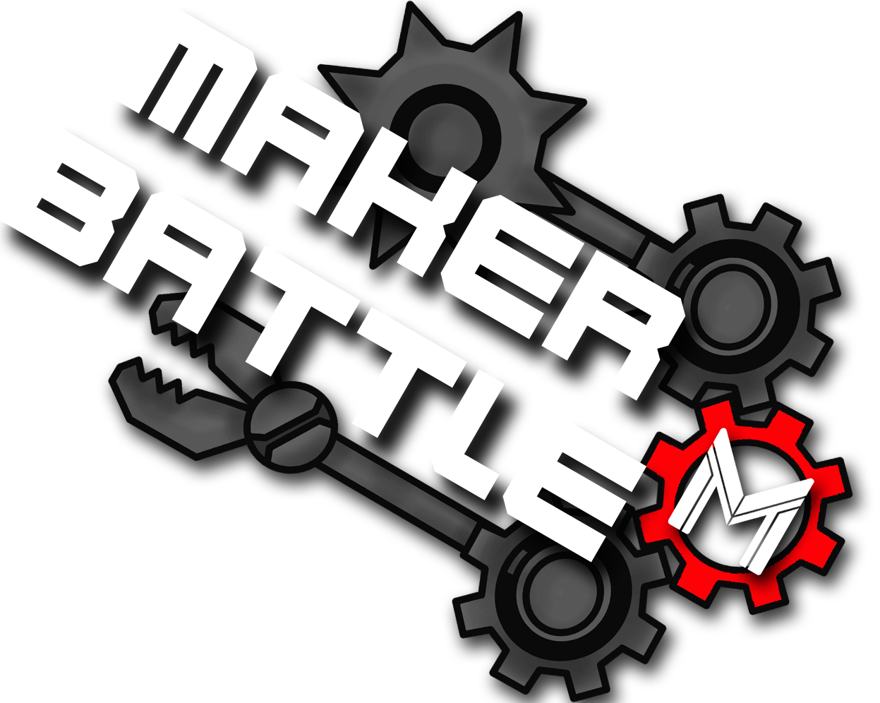 Makerbattle lgo   photoshop file with layers of parts  1