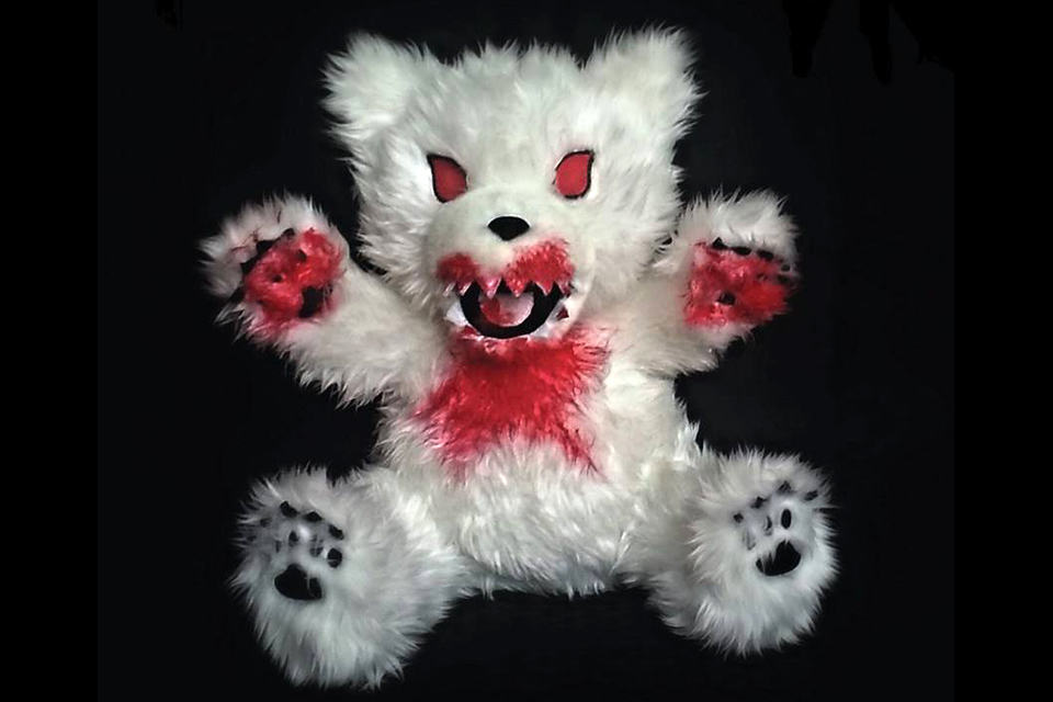 Vicious plush toys by nats toys tear bear image 1
